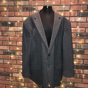 Kenneth Cole 100% Wool Men's Blazer Sport Coat